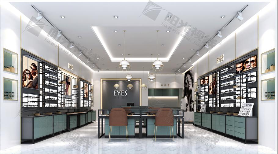 眼镜店装修效果图对于装修的意义